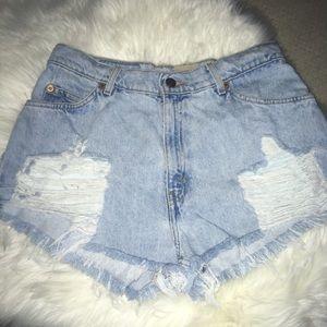 Levi's Vintage Furst of a Kind distress jeans 6